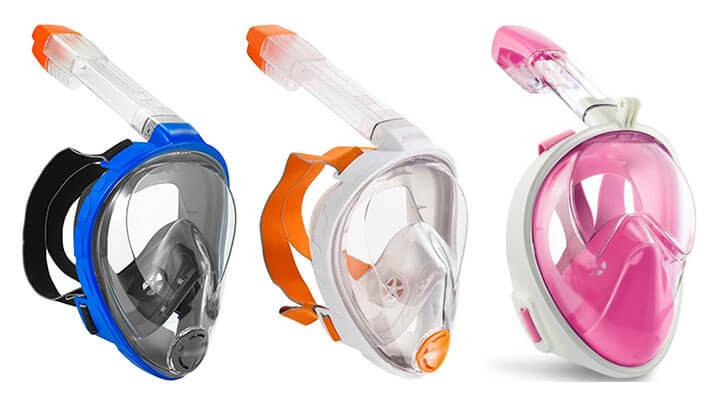 Are Full Face Snorkel Masks Safe?